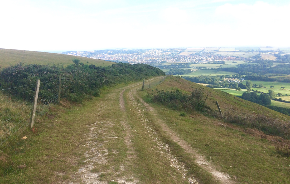 Godlingston Hill Views on the Isle of Purbeck