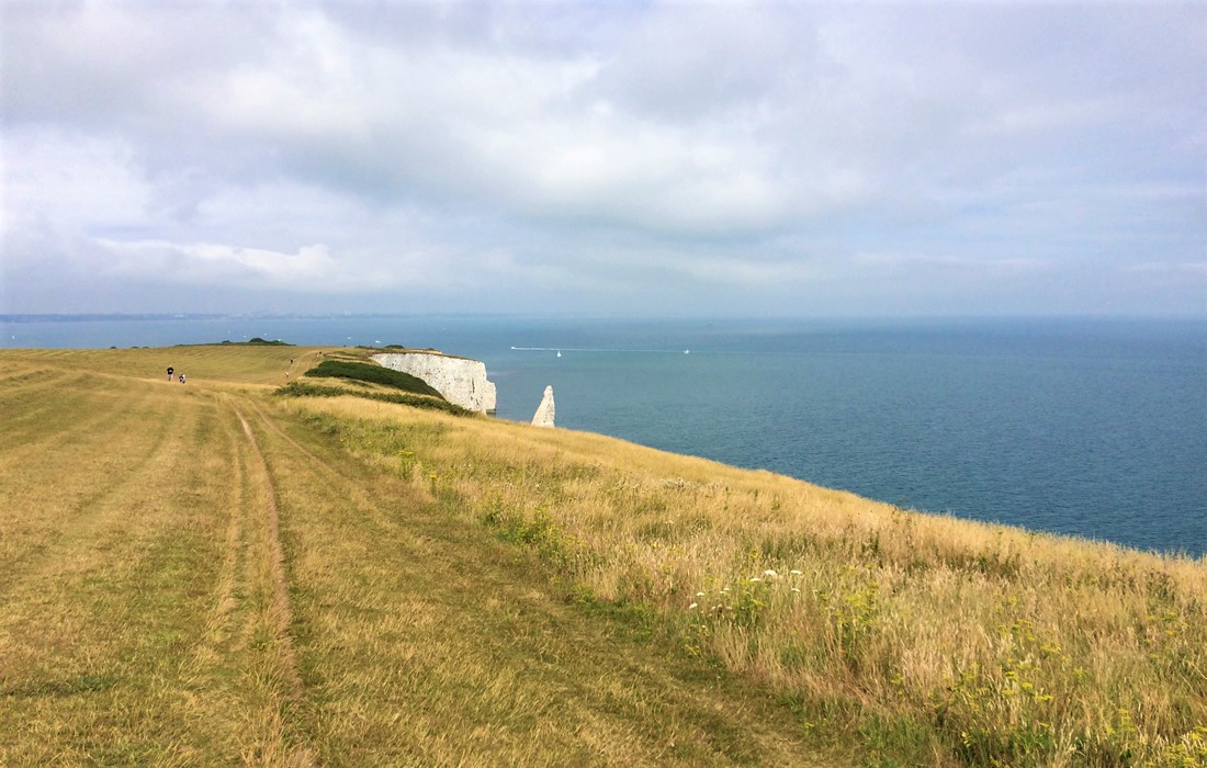 Old Harry Rocks on the Isle of Purbeck